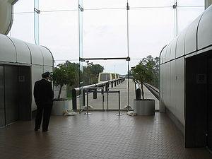 Orlando International Airport People Movers - People mover platform