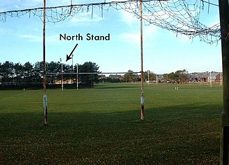 Orrell R.U.F.C. - The 3 fields surrounding the main pitch prior to housing redevelopment