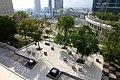 Osaka Station City Yawaragi-no-niwa Garden 2014.jpg