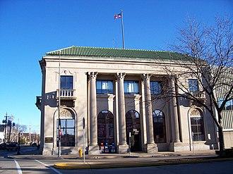 Oshkosh Northwestern - Building in downtown Oshkosh