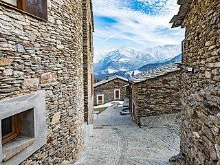 Ostana Comune in Piedmont, Italy