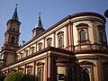 Ostrava, Bazilika Božského spasitele - zadní pohled na hlavní loď.JPG