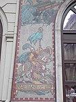 Ottoman warrior. Mosaic of Szondi ballad by Jenő Haranghy (1947) at Radisson Blu Béke Hotel. - Budapest.JPG