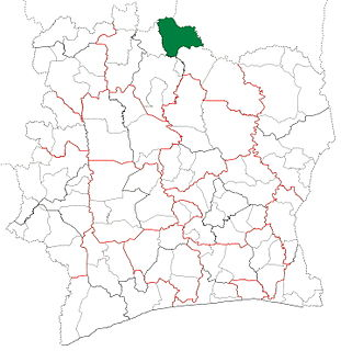 Ouangolodougou Department Department in Savanes, Ivory Coast