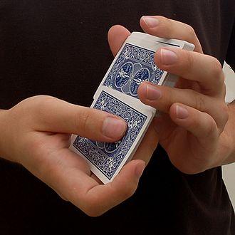 Shuffling - The overhand shuffle