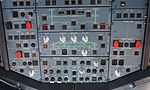 Overhead panel of an Airbus A320 during cruise.jpg