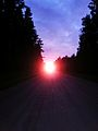 Päikeseloojang maanteel, Haaslava vald.jpg