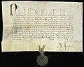 Påven Nicolaus V till biskopen i Växjö om pengatvist - Svenskt Diplomatarium - 25669.jpg