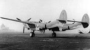 P-38E scorpion-tail