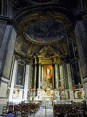 Capilla de la Virgen de la iglesia de San Sulpicio, París (1774-1777)
