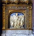 P1020665 Paris Ier Eglise Saint-Eustache Transept nord Haut-relief David-roi rwk.JPG