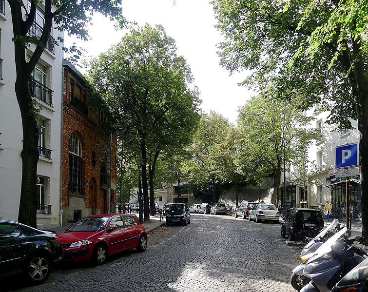 Fichier:P1040823 Paris XVIII avenue Junot rwk.JPG