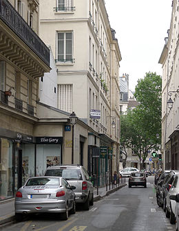 Image illustrative de l'article Rue de Lesdiguières