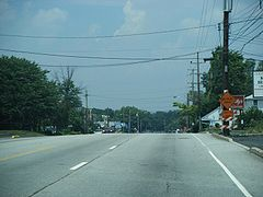 PA 611 NB past Blair Mill Road.JPG