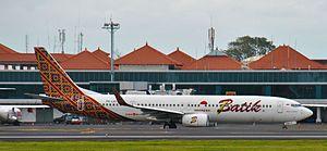 Batik Air - Batik Air Boeing 737-900ER at Ngurah Rai Airport