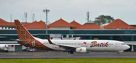 Batik air wikiwand batik air boeing 737 900er at ngurah rai airport stopboris Image collections