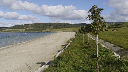 Praia das Pontes.