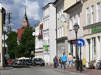 Górowo Iławeckie - Old Town