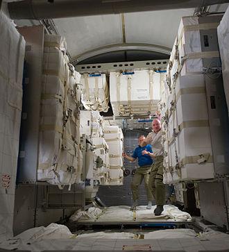 Leonardo (ISS module) - Interior of Leonardo