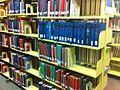 PR Books in Milner Library.JPG