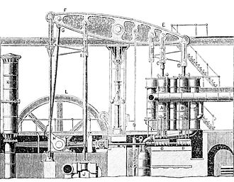 PSM V12 D157 Compound pumping engine 1860.jpg