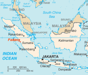 Padang location