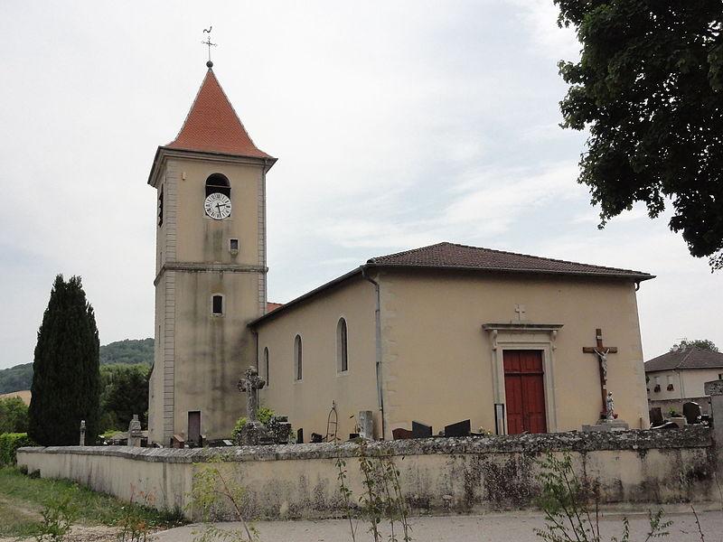 Pagney-derrière-Barine (Meurthe-et-M.) église