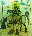 Painting in Emamzadeh Esmaeil 1.jpg