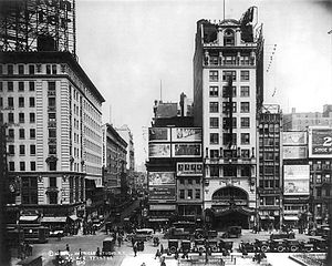 English: Palace Theatre, Broadway, New York, c...