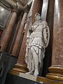 Palazzo Ducale salone maggior consiglio - decorazioni - statua 4.jpg