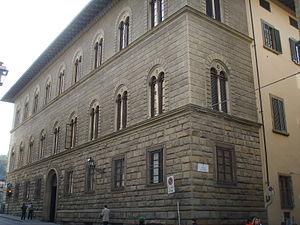 Palazzo Malenchini Alberti - Palazzo Malenchini Alberti seen from Via de' Benci.