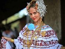 巴拿马-文化-Panamanian Pollera