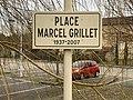 Panneau de la place Marcel Grillet à Jujurieux (Ain).jpg