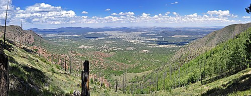 Panorama of East Flagstaff Doney Park (7592206060).jpg