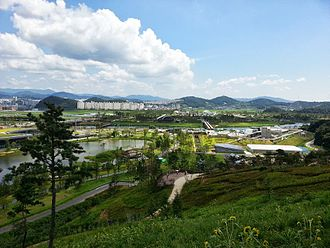 Suncheon Bay Garden Expo 2013 - Panorama of International Garden Exposition Suncheon Bay Korea 2013