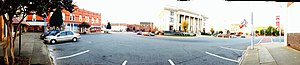Alamance County Courthouse - From NE Corner, near Tasty Bakery in Graham, NC