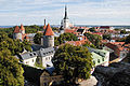 Panoramic view of the Old Town of Tallin. Estonia, Northern Europe.jpg