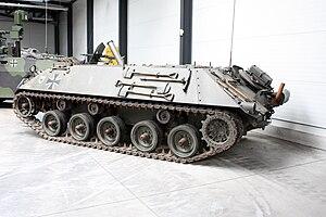 Schützenpanzer Lang HS.30 - Image: Panzermuseum Munster 2010 0649