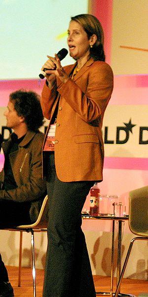 Paola Antonelli - Antonelli at the Digital Life and Design Conference, Munich, 2008