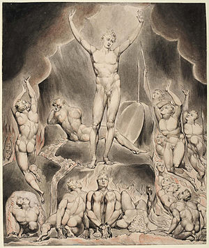 William Blake's illustrations of Paradise Lost - Image: Paradise L Thomas 1
