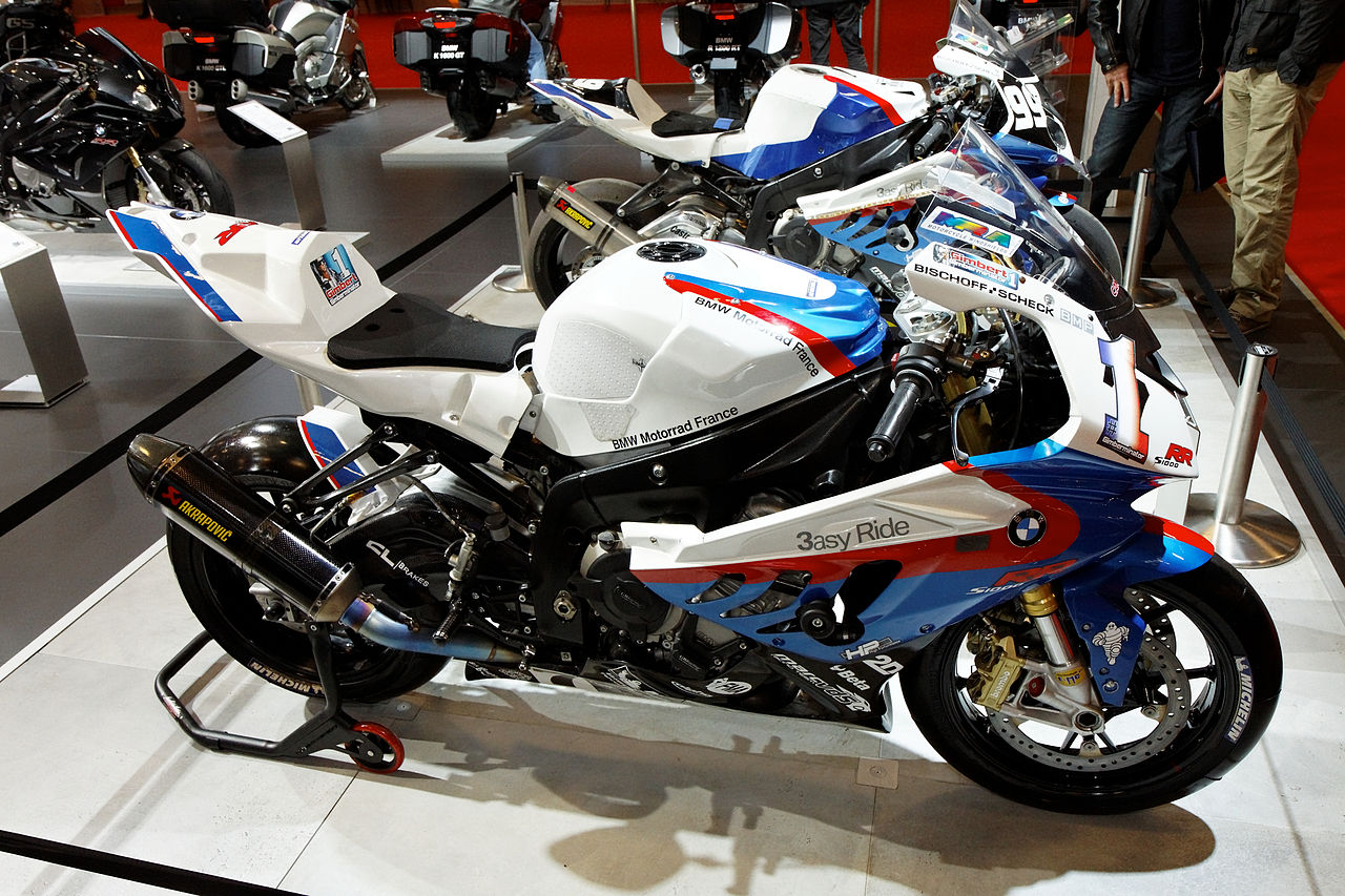 File paris salon de la moto 2011 bmw s1000 rr team - Salon de chat francais ...