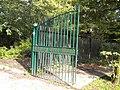 Park gates, Cherry Tree Wood N2 - geograph.org.uk - 2100773.jpg