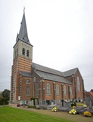 Kontich - Image: Parochiekerk Sint Michiel, Waarloos