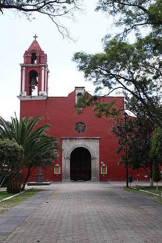 Mixcoac - Image: Parroquia de Santo Domingo de Guzmán