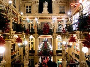 Nantes, France Christmas 2007
