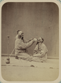 Pastimes of Central Asians. Two Maskhara-bāzūs, or Entertainers Masquerading as Hindus WDL10819.png