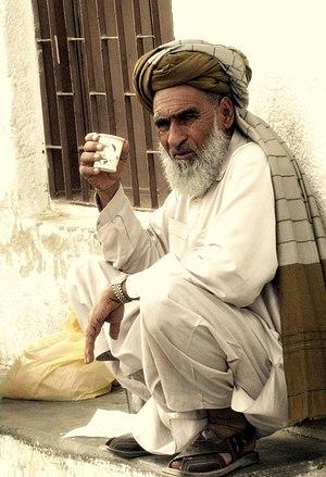 Pashtun diaspora - Pashtun man in Al Ain, UAE