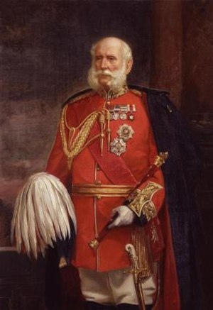 104th Regiment of Foot (Bengal Fusiliers) - Field Marshal Sir Patrick Grant, colonel of the regiment in the 1860s