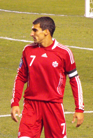 Paul Stalteri - Stalteri playing for Canada in 2008