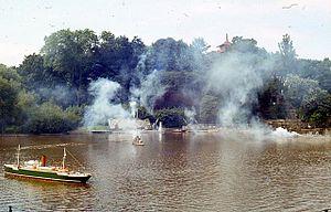 Peasholm Park - Naval Warfare event